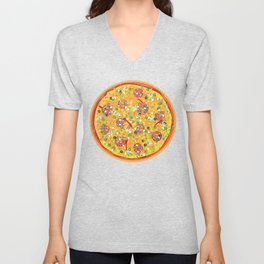 Pizza Clicker Unisex V-Neck
