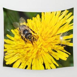 Bees tongue Wall Tapestry