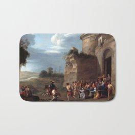 Cornelis van Poelenburgh Christ Carrying the Cross Bath Mat