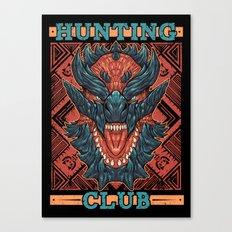 Hunting Club: Glavenus Canvas Print