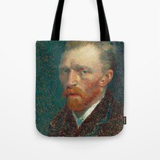 Vincent van Gogh - Self-Portrait, 1887 Tote Bag