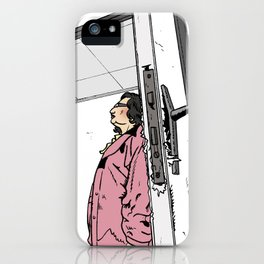 Regine - Heavy work at the office iPhone Case