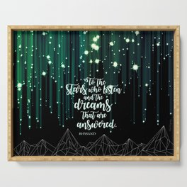ACOMAF - Starfall Serving Tray