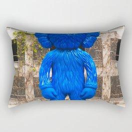 KAWS BFF Companion Statue in Los Angeles California USA Rectangular Pillow