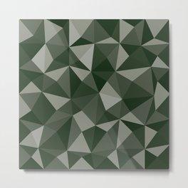 Geometric pyramids V8 Metal Print