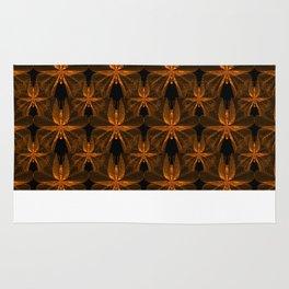 Copper Butterflies Rug