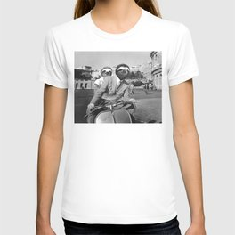 Sloth in Roman Holiday T-shirt