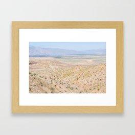 Desert Daze Framed Art Print