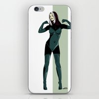 rogue iPhone & iPod Skins featuring Rogue by Andrew Formosa