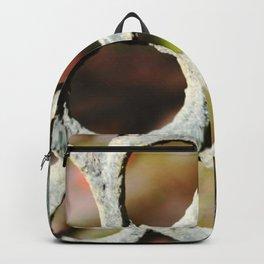 Metalic Flower Backpack