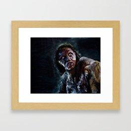 BrundleFly Framed Art Print