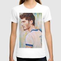 zayn malik T-shirts featuring Zayn Malik One Direction by Iván Gabela