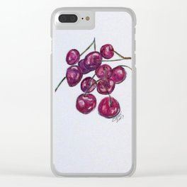 Sweet Cherry Clear iPhone Case