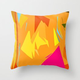 Fish Thirst Throw Pillow