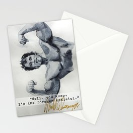 Arnold the optimist Stationery Cards
