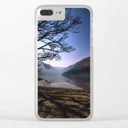 Night sky in Glendalough, Wicklow Mountains - Ireland Print (RR 266) Clear iPhone Case