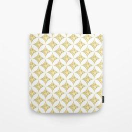 Geometric gold sparkle Tote Bag