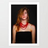 Modern Woman Ash Wednesday Art Print