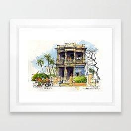 Faded Elegance, Havana. Framed Art Print