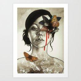 Contamination Art Print