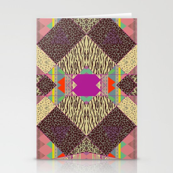RETRO KALEIDOSKOPE   Stationery Cards