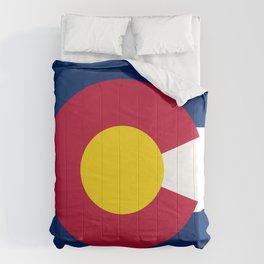 Colorado State Flag Comforters