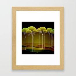 Sunrise on the Hill Framed Art Print