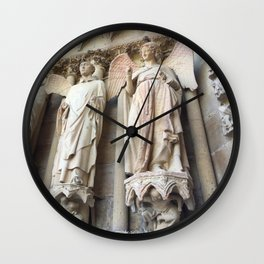 Smile of Reims Wall Clock