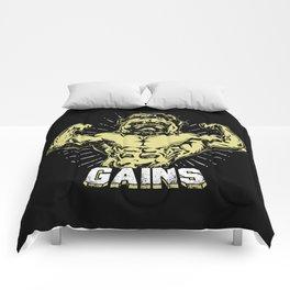 Gains Pug Comforters