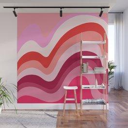 Retro Waves 4 Wall Mural
