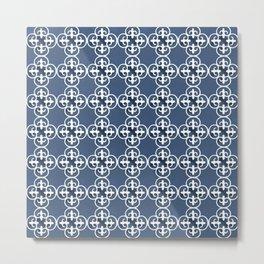 Floor Series: Peranakan Tiles 97 Metal Print