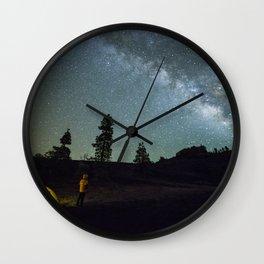 Milky way in La Palma Wall Clock