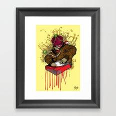 My Half Blood DJ Framed Art Print