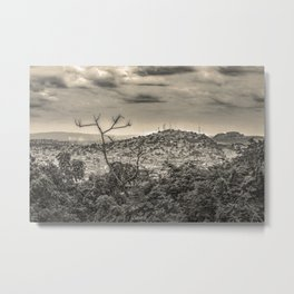 Guayaquil Outskirts Aerial View from Botanical Garden Metal Print