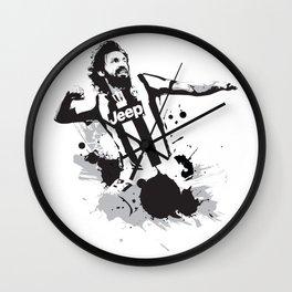 Andrea Pirlo Wall Clock