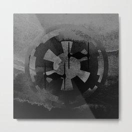 Star Wars Imperial Tie Fighters in Gray Metal Print