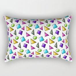 Mod Shapes Geometry Lesson Rectangular Pillow