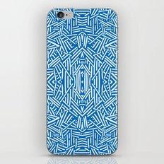 Radiate - Dazzling Blue iPhone & iPod Skin