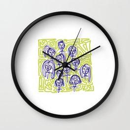 Community Garden Wall Clock