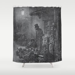 Gustave Dore: Houndsditch Shower Curtain
