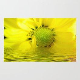 Sunrise Yellow Daisy Rug