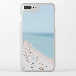 Miami Beach Clear iPhone Case