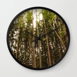 The Tall Trees Wall Clock
