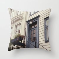 norway Throw Pillows featuring Norway II by Cynthia del Rio