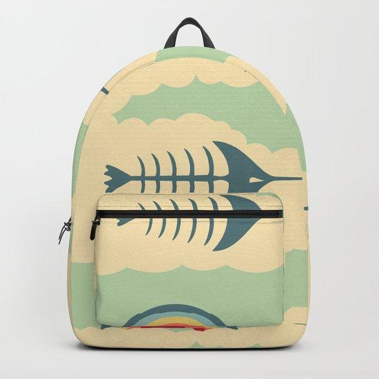 bittersweet pattern Backpack