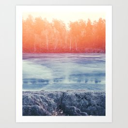 Cosmic March Art Print