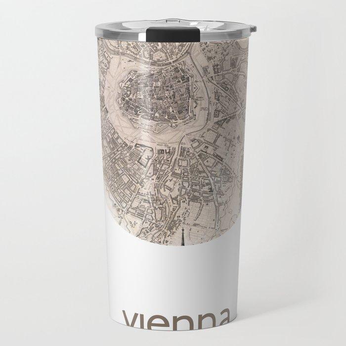 VIENNA AUSTRIA - city poster - city map poster print Travel Mug