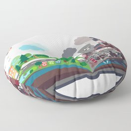 EcoBook Floor Pillow