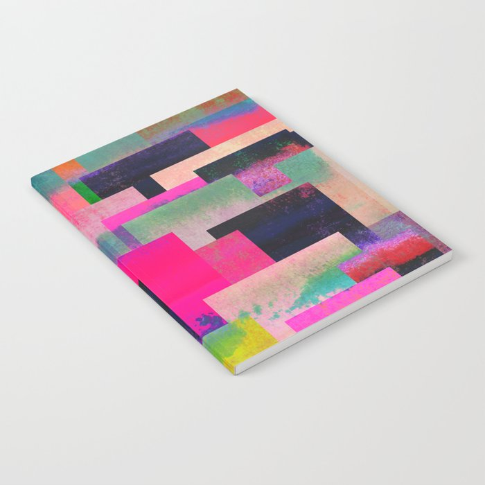 colour + pattern 4 Notebook