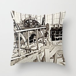 Aviation Science Throw Pillow